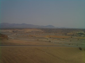 Scenery between Makkah and Madinah
